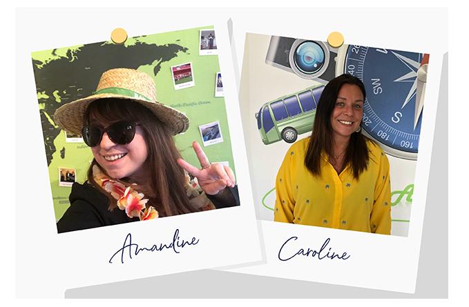 Amandine et Caroline Voyages Autour de Nous